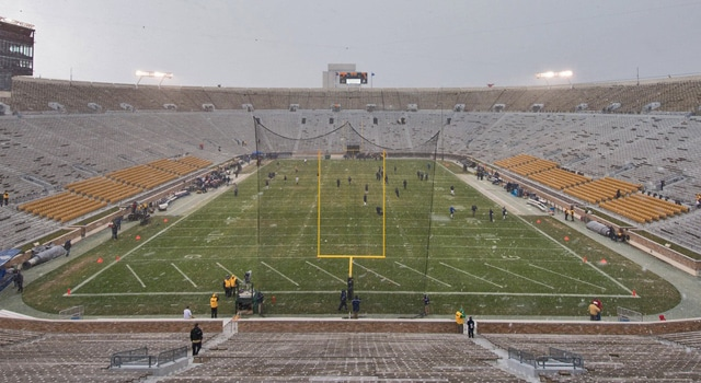 Notre Dame Stadium - Turf or Grass?