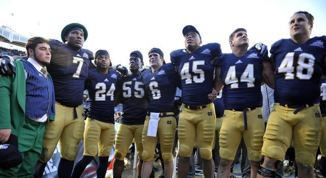 2014 Pinstripe Bowl - Notre Dame