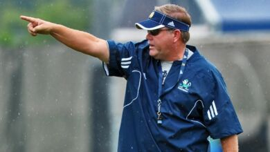 Brian Kelly - Notre Dame Recruiting Camps