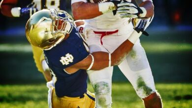 Notre Dame Safety Max Redfield