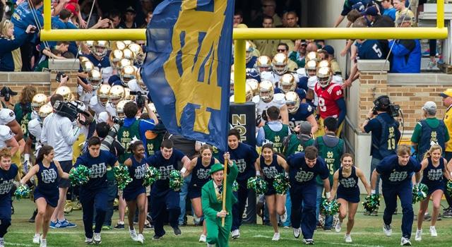 Notre Dame - #17 in 2014 Pre-Season Poll