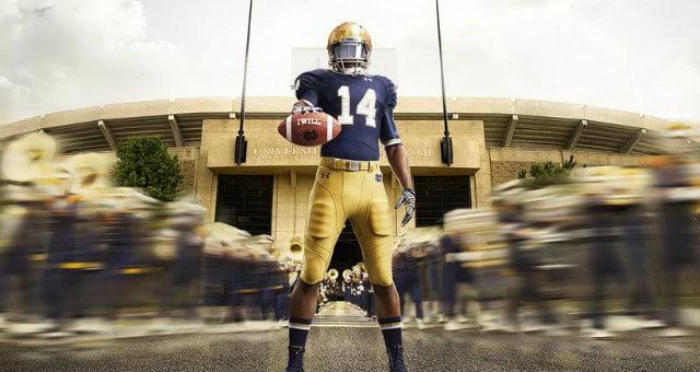 2014 Notre Dame Uniforms