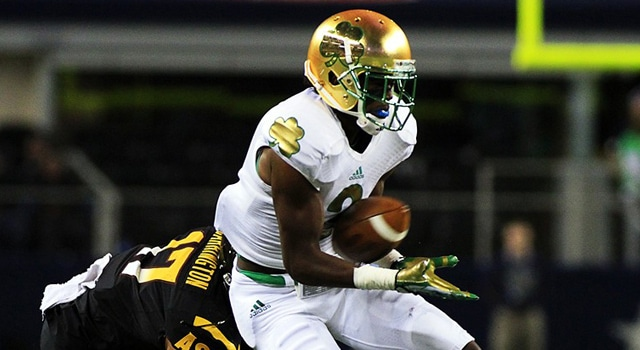 Chris Brown - Notre Dame WR