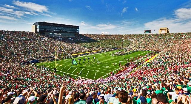 Notre Dame - 17th in 2014 Pre-Season AP Poll
