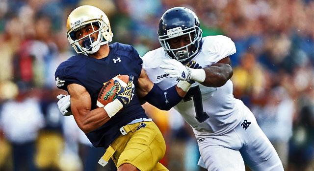 Will Fuller - Notre Dame v. Rice