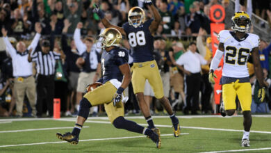 Amir Carlisle - Notre Dame v. Michigan