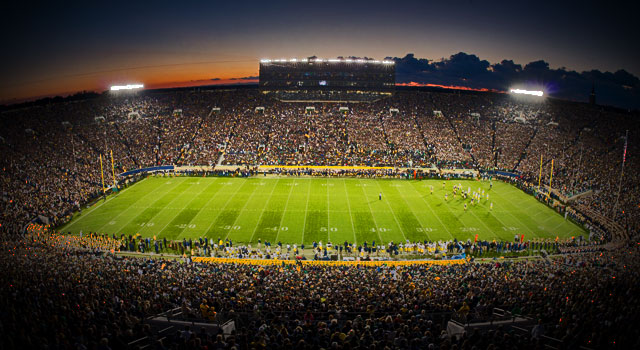 Notre Dame vs. Michigan 2014