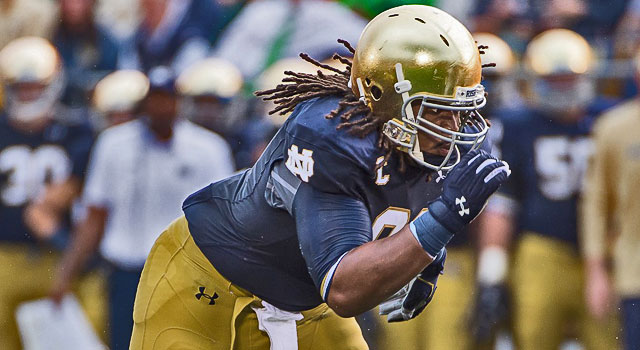 Sheldon Day - Notre Dame vs. Rice