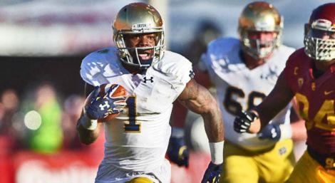 Greg Bryant - Notre Dame RB v. USC