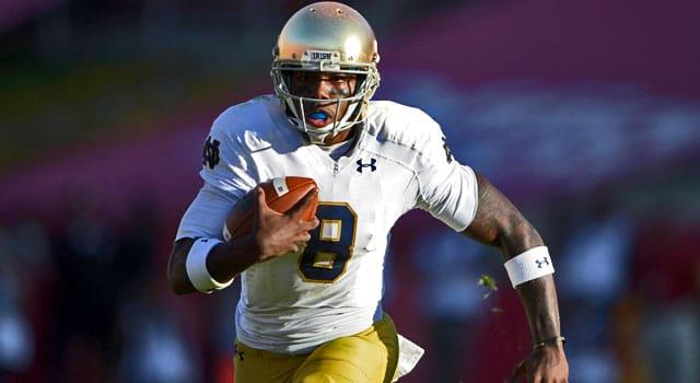Malik Zaire - Notre Dame QB vs. USC