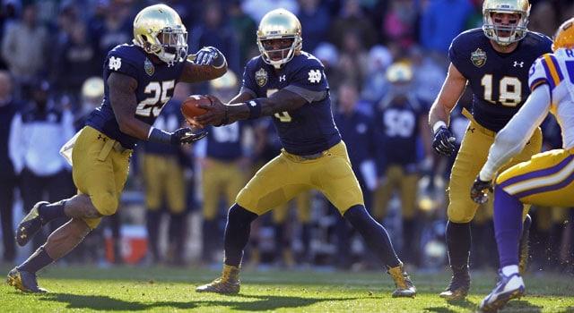 Malik Zaire - Notre Dame QB v. LSU