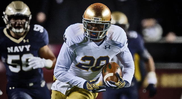 CJ Prosise - Notre Dame WR