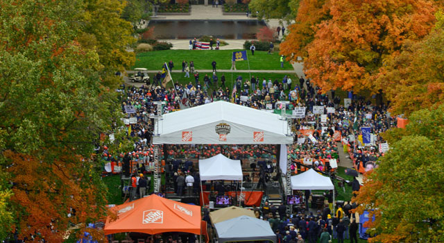 Notre Dame ESPN College Gameday