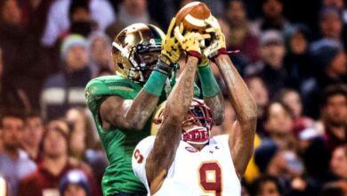 Chris Brown - Notre Dame WR vs. Boston College