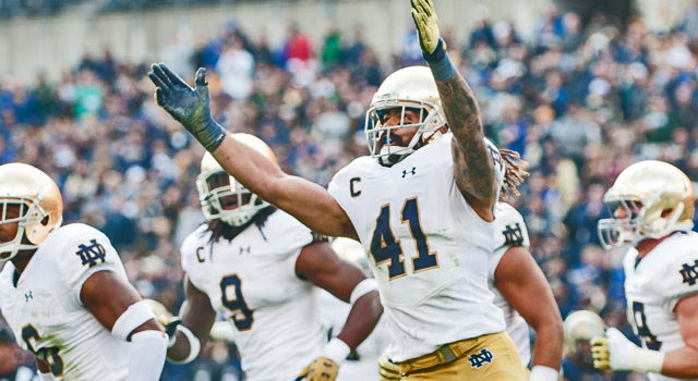 Notre Dame Ranked #4 in CFP