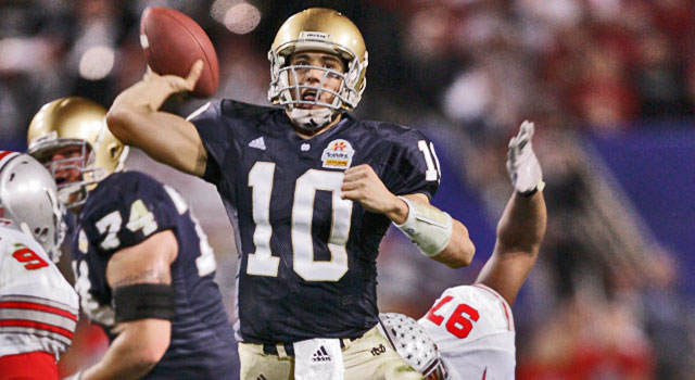 Notre Dame Fiesta Bowl History