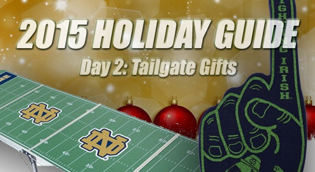 Notre Dame Tailgate Gifts - 12 Days of Notre Dame Christmas: Day 2 ...