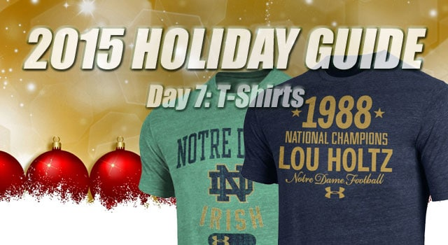 Notre Dame T-Shirts: Notre Dame Christmas: Day 7 // UHND.com