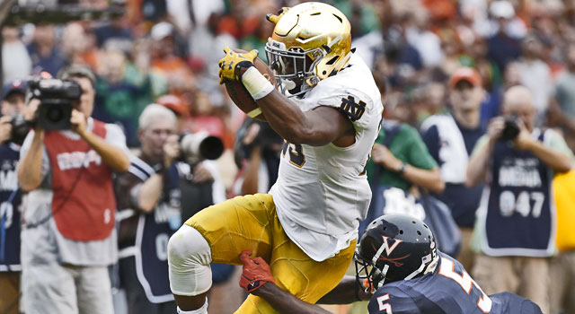 CJ Prosise - Notre Dame RB to NFL