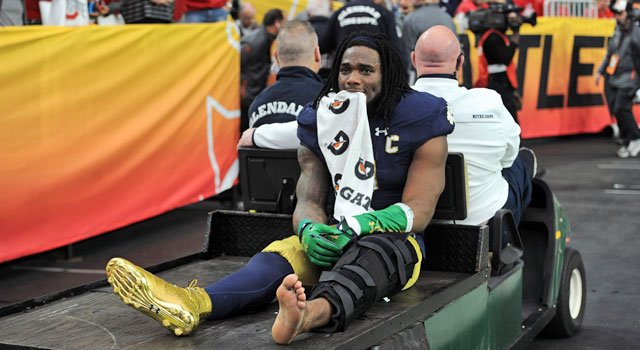 Jaylon Smith Injured in Fiesta Bowl