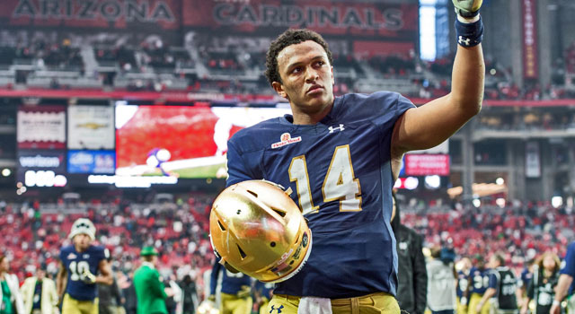 Image result for deshone kizer draft