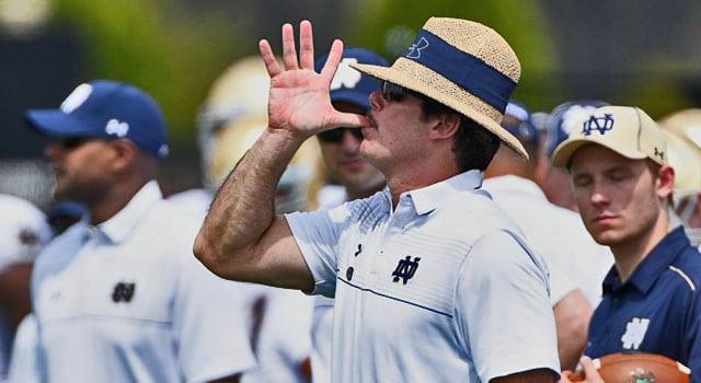 Brian VanGorder - Notre Dame Defensive Coordinator