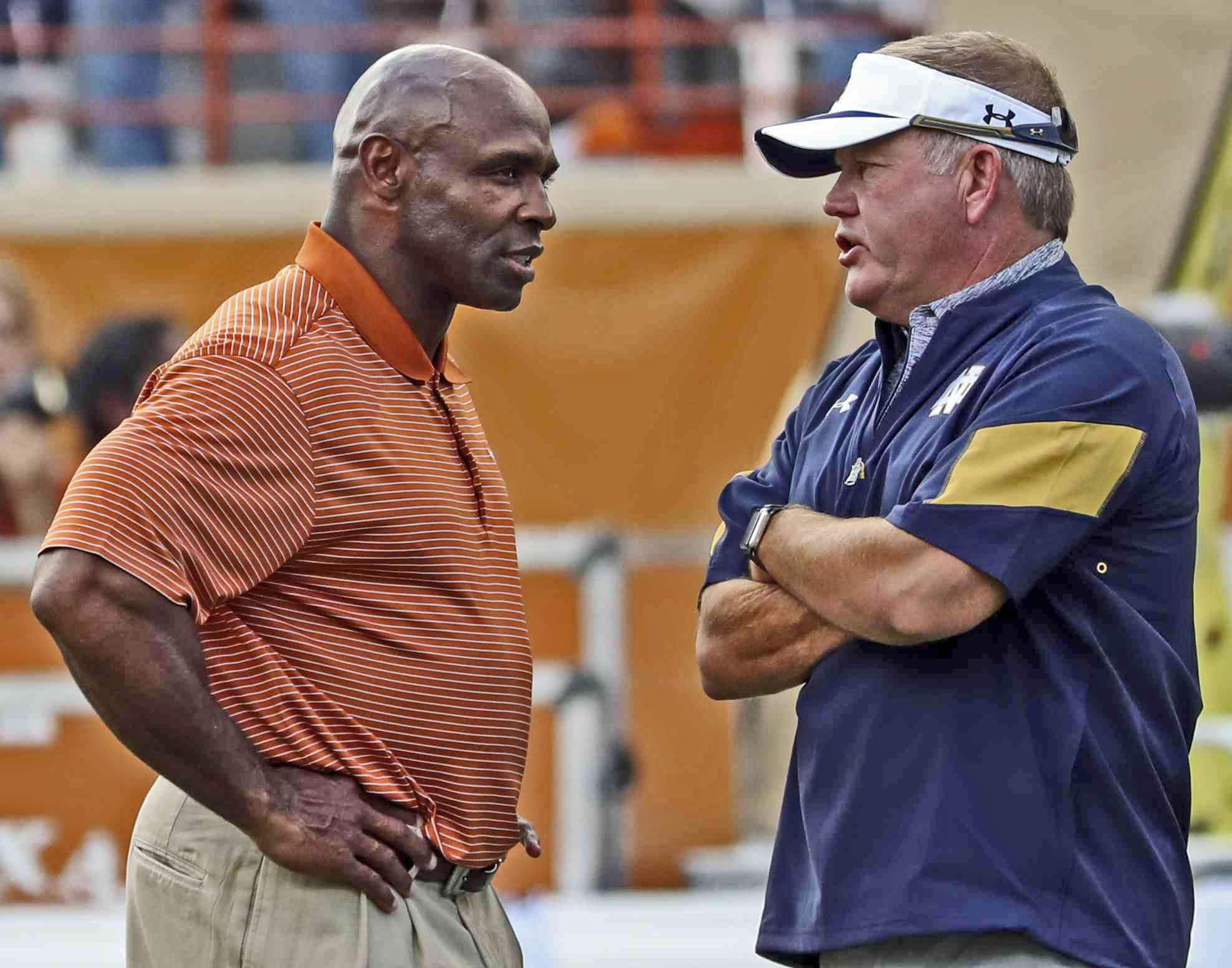Notre Dame Brian Kelly Need To Target Charlie Strong Uhnd Com