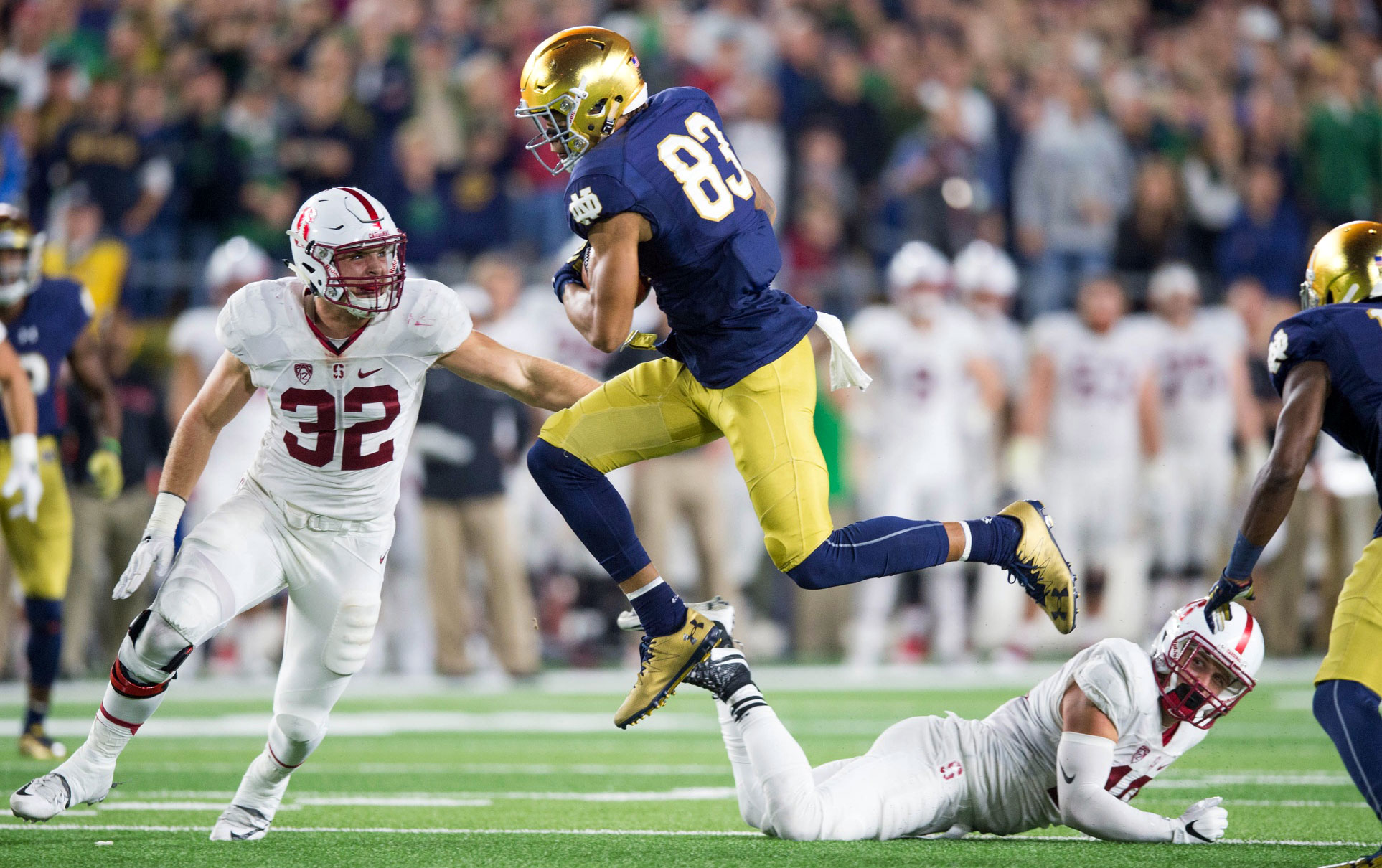 Notre Dame Football's Top 25 Players in 2017: #25-21 ...