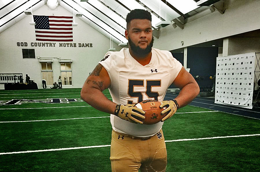 Notre Dame Football Offers Promising Dt Ja Mion Franklin