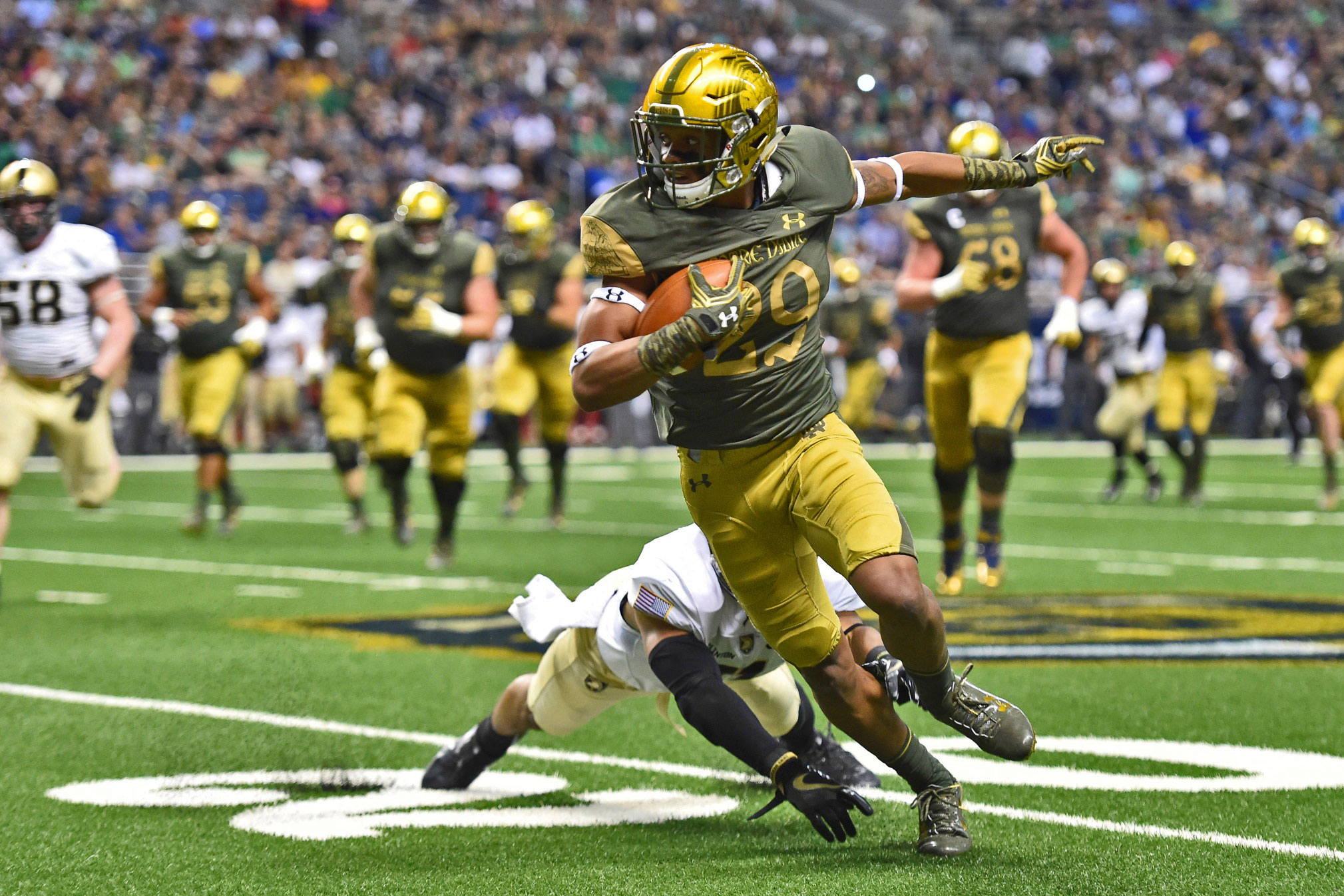 Is Kevin Stepherson Notre Dame's Next Will Fuller? // UHND.com