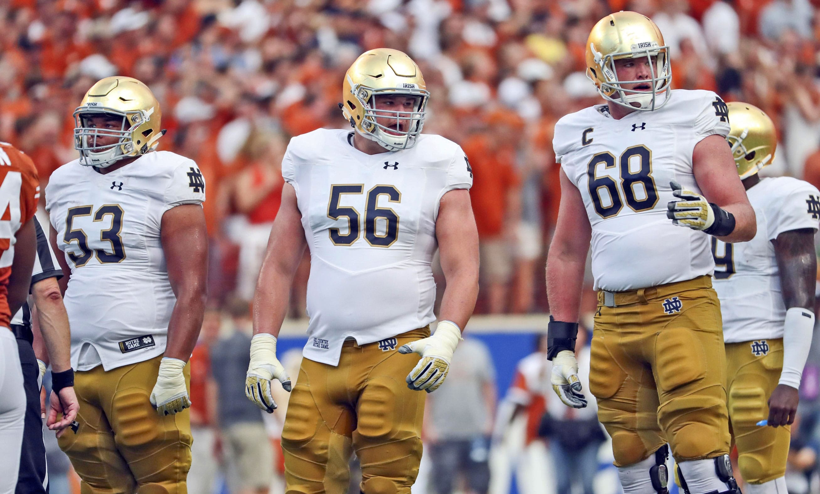 Notre Dame Football Schedule 2019 >> Spring Football '17: Gauging The Talent On The Notre Dame Roster // UHND.com