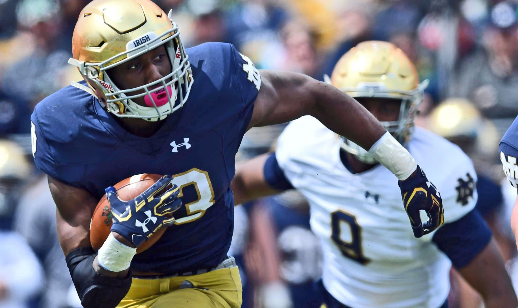 Josh Adams: Notre Dame Football's Next Star Running Back ...