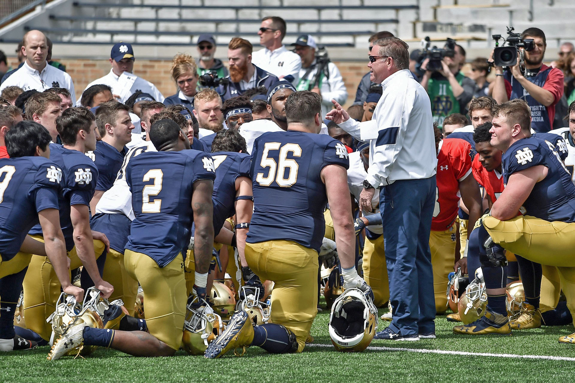 Norte Dame Football Roster