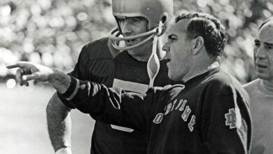 Ara Parseghian - Notre Dame Head Coach