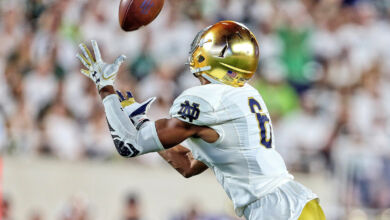 Equanimes St. Brown - Notre Dame WR
