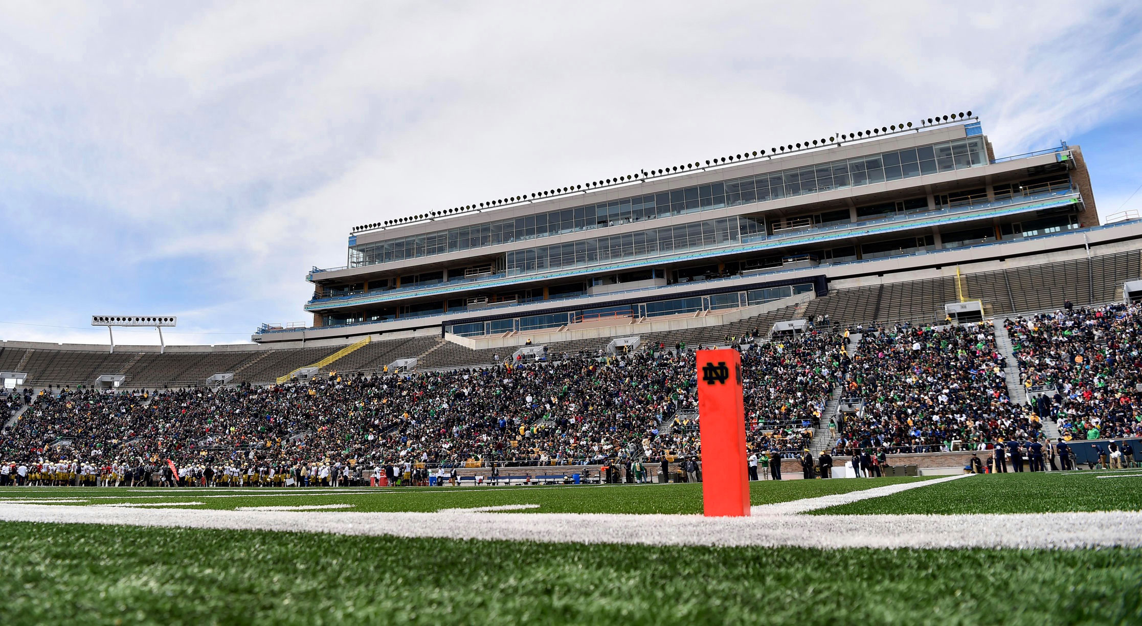 Notre Dame Football Schedule 2019 >> 2018 Notre Dame Spring Football Practice, Blue & Gold Game Dates // UHND.com