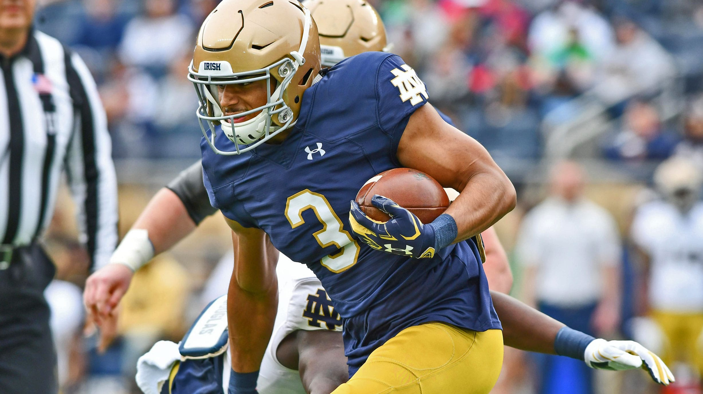 Notre Dame Football Schedule 2019 >> Will Avery Davis, Jafar Armstrong Give Notre Dame Options? // UHND.com