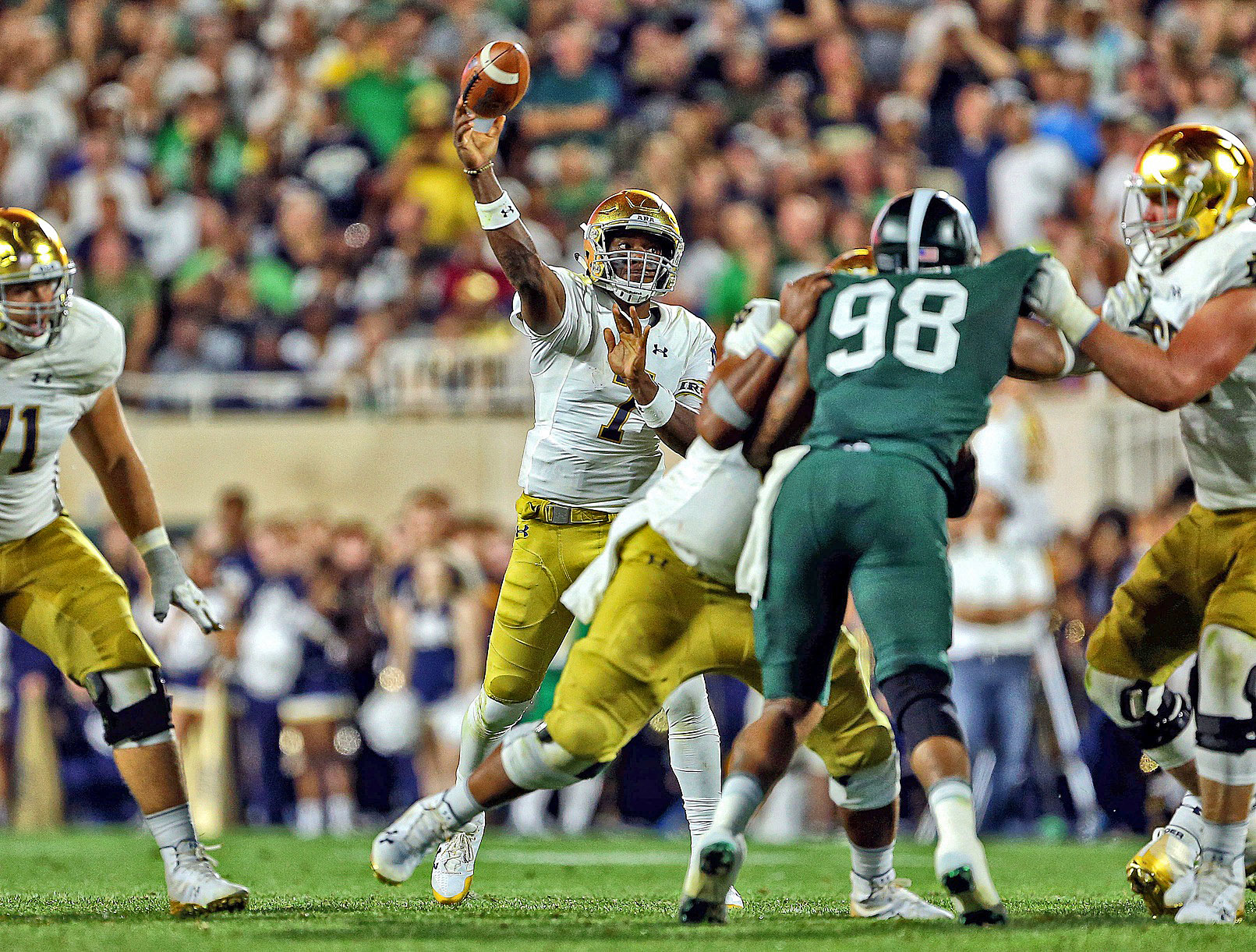 2018 Notre Dame Football Now Or Never: Brandon Wimbush ...