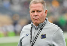 Notre Dame HC Brian Kelly