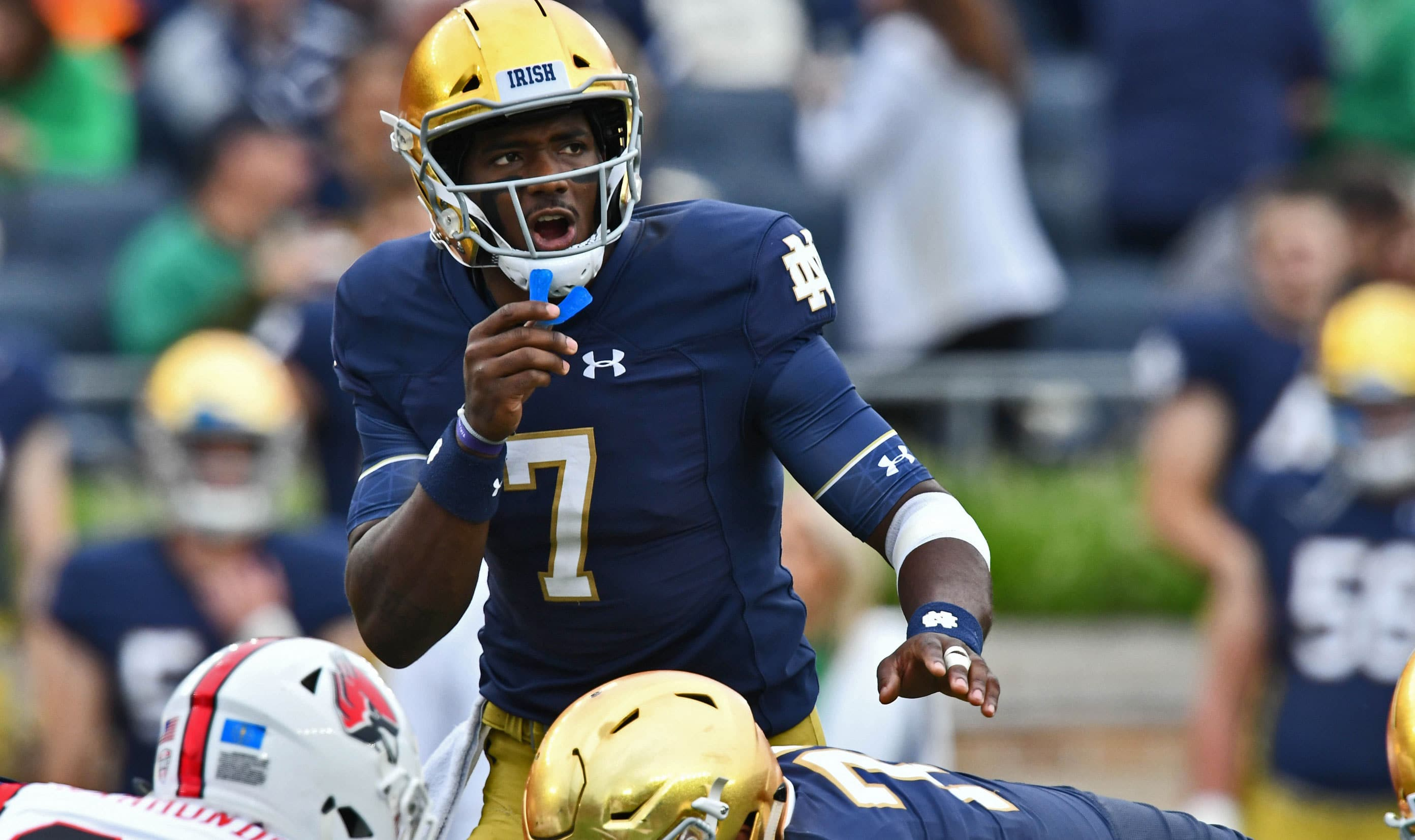 Notre Dame Football Schedule 2019 >> Beyond the Box Score: Breaking Down Notre Dame's Near Disaster vs. Ball State // UHND.com