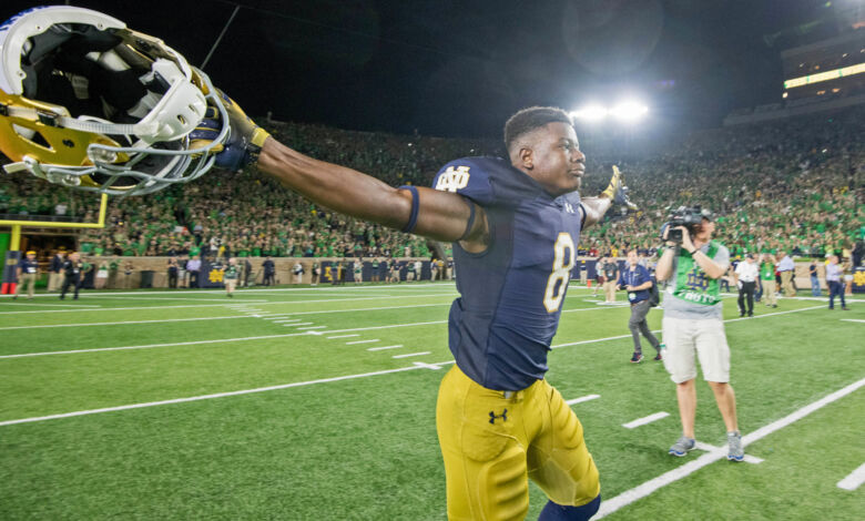 Notre Dame Football Highlights: Irish Top Wolverines in ...