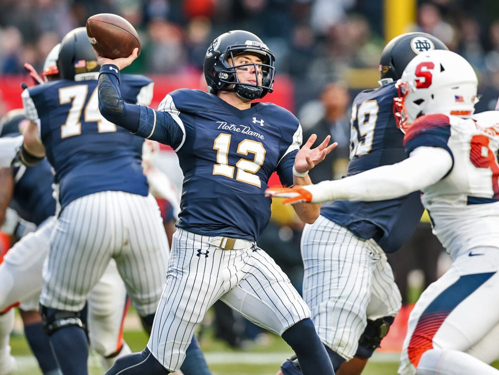 Notre Dame Highlights Irish Blowout 12 Syracuse 36 3 Uhnd Com