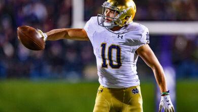 Notre Dame WR Chris Finke was an unsung hero in 2018
