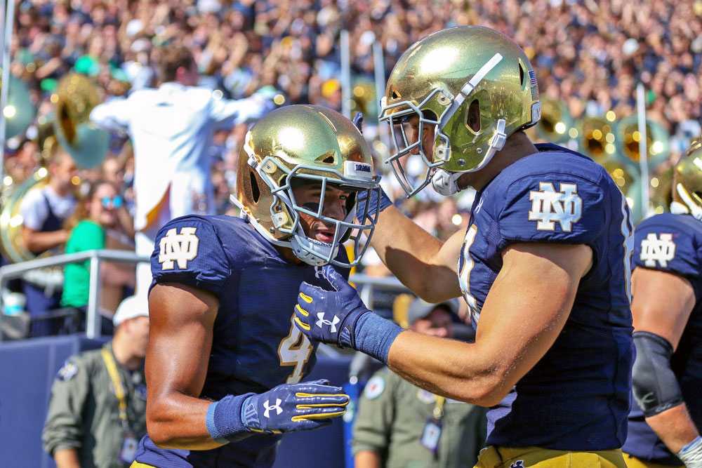 Grading Notre Dame's Offensive Performance Against New ...
