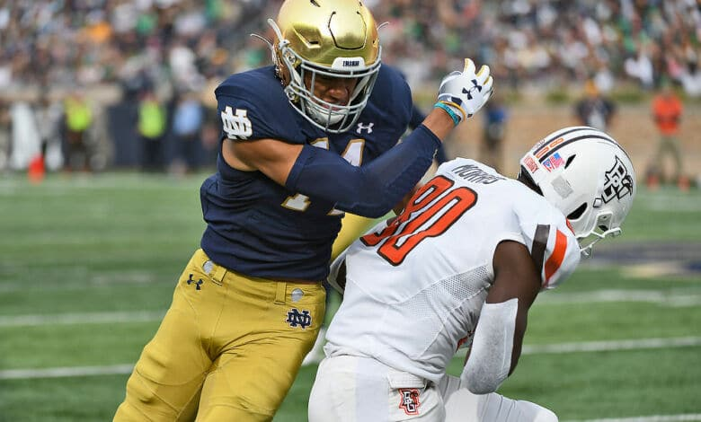 Notre Dame S Kyle Hamilton Pegged One of College Football ...