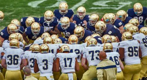 2015 Notre Dame Blue Gold Game