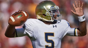 Everett Golson - Notre Dame QB