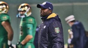 Autry Denson - Notre Dame RB Coach