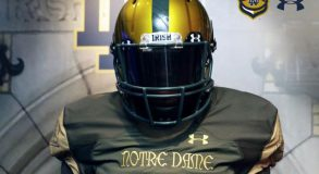 Posted to Notre Dame Football Facebook Account