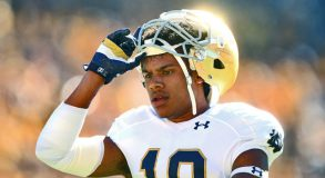 Max Redfield has been kicked off of the Notre Dame football team